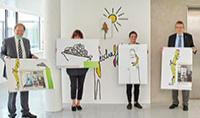 Rotary Club Bonn spendet für Kunst im Eltern-Kind-Zentrum (ELKI)